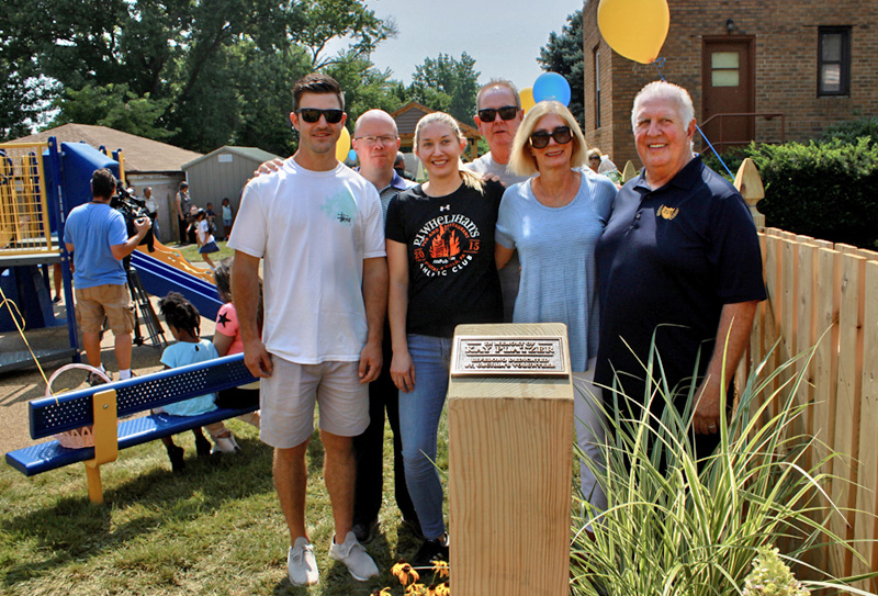 St. Ceclilia Little Angels - Playground dedicated to Kay Platzer