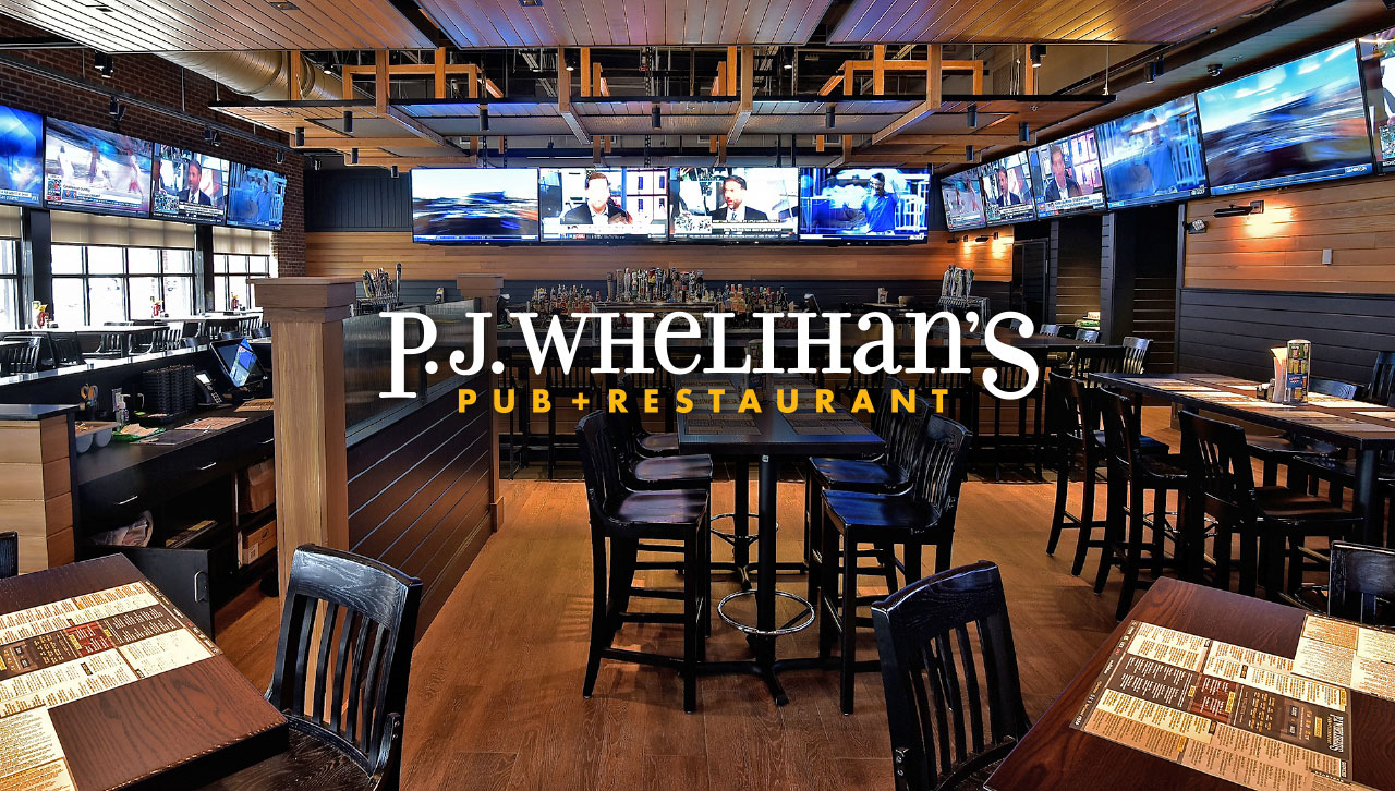 Interior of P.J. Whelihan's Pub + Restaurant