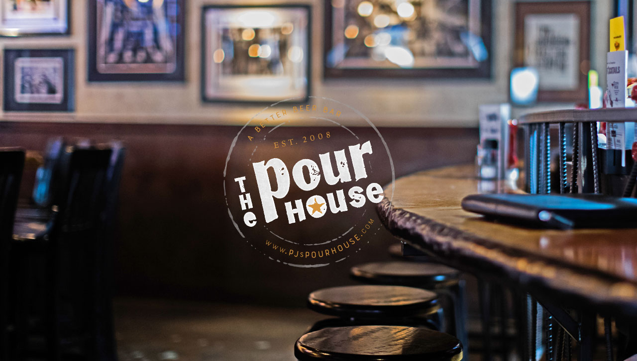 Interior of The Pour House