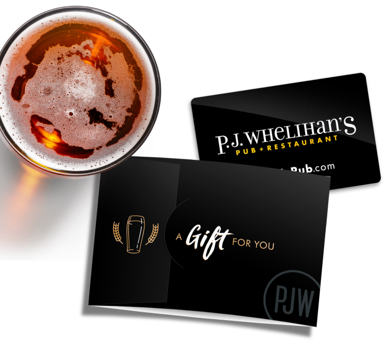 Image of P.J. Whelihan's Gift Card